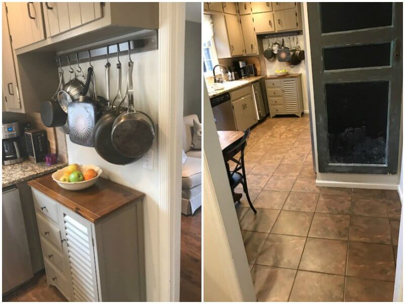 """""""It just made for a stressful space,"""" says Ashley McMakin, founder of Ashley Mac's, of her former home kitchen."""
