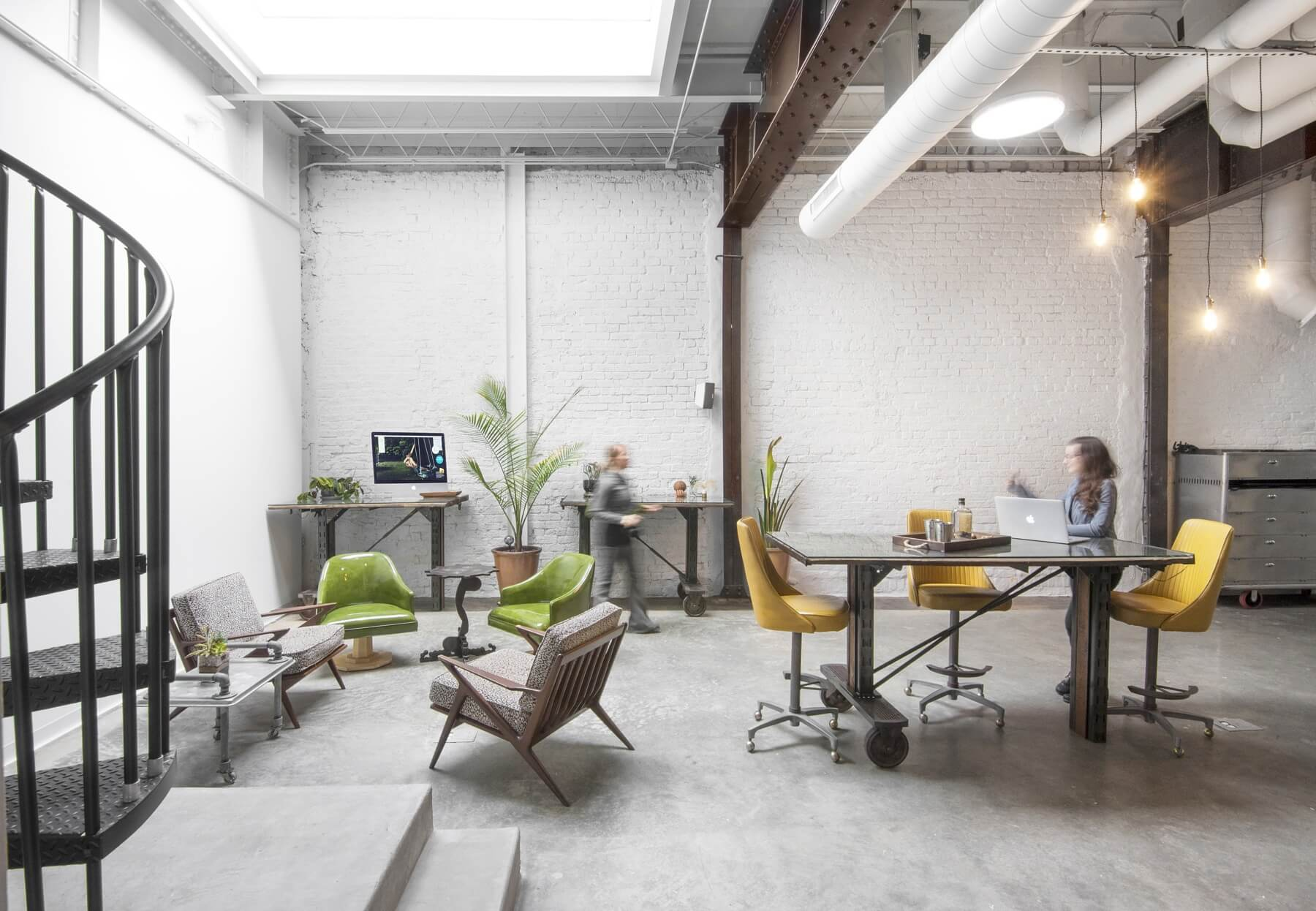 Studio conference spaces and work stations | Image: Liesa Cole