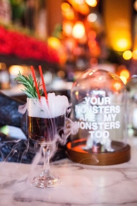 """""""The Upside Down"""" cocktail by Feizal Valli of The Atomic. Image: Rachael Roberts"""