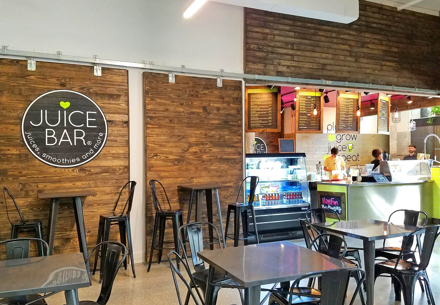Crosstown Concourse — In keeping with the healthy theme of Crosstown, I Love Juice Bar is a proud tenant of the development.