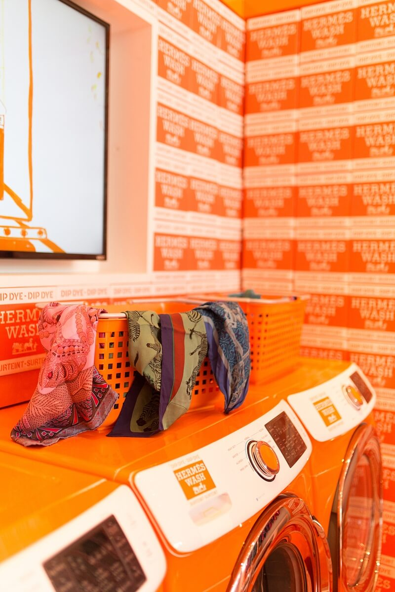 Don't Miss the Hermès Popup! Dye Your Scarves at Hermesmatic.