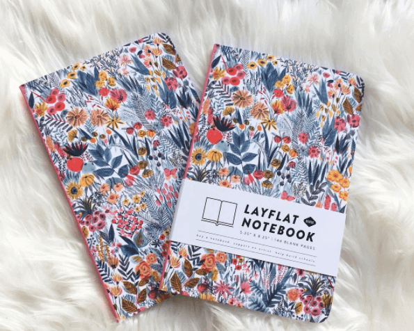 "We love these ""layflat"" notebooks!"