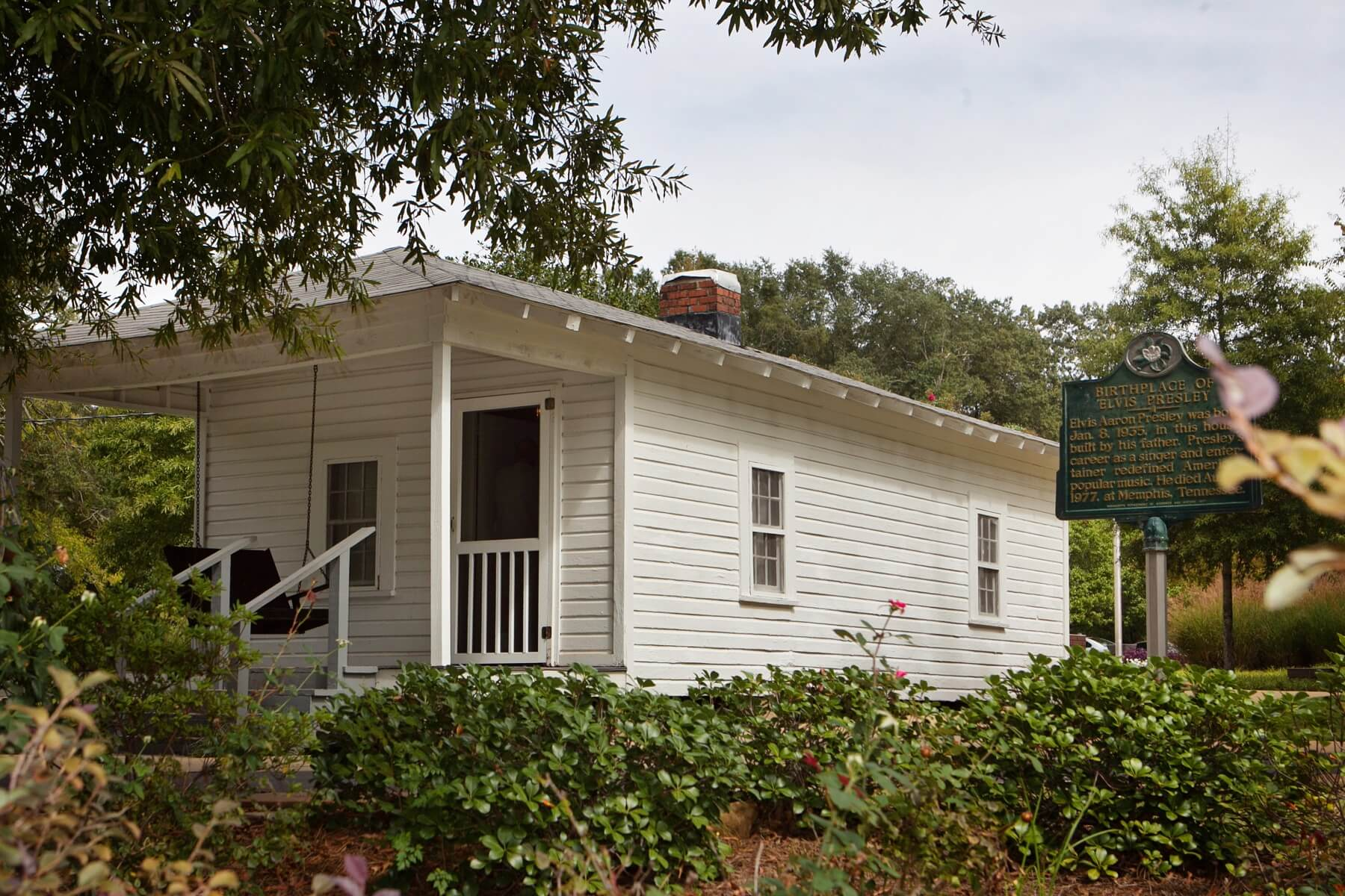 Make a visit to the Elvis Presley Birthplace while in his hometown.