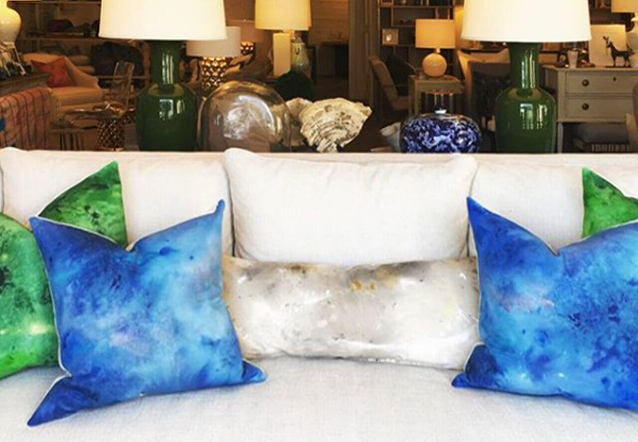 Carrie Pitman pillows, $239-$259, at Defining Home.