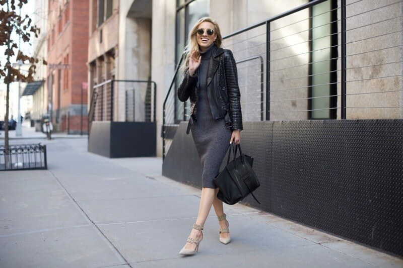 Wearing Turtlenecks, Moto Jackets & the Color Black: Ask Megan