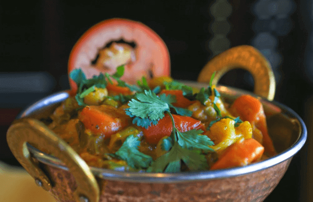 Spicy and savory Indian food is a flavorful way to celebrate the season! Image: Shalimar