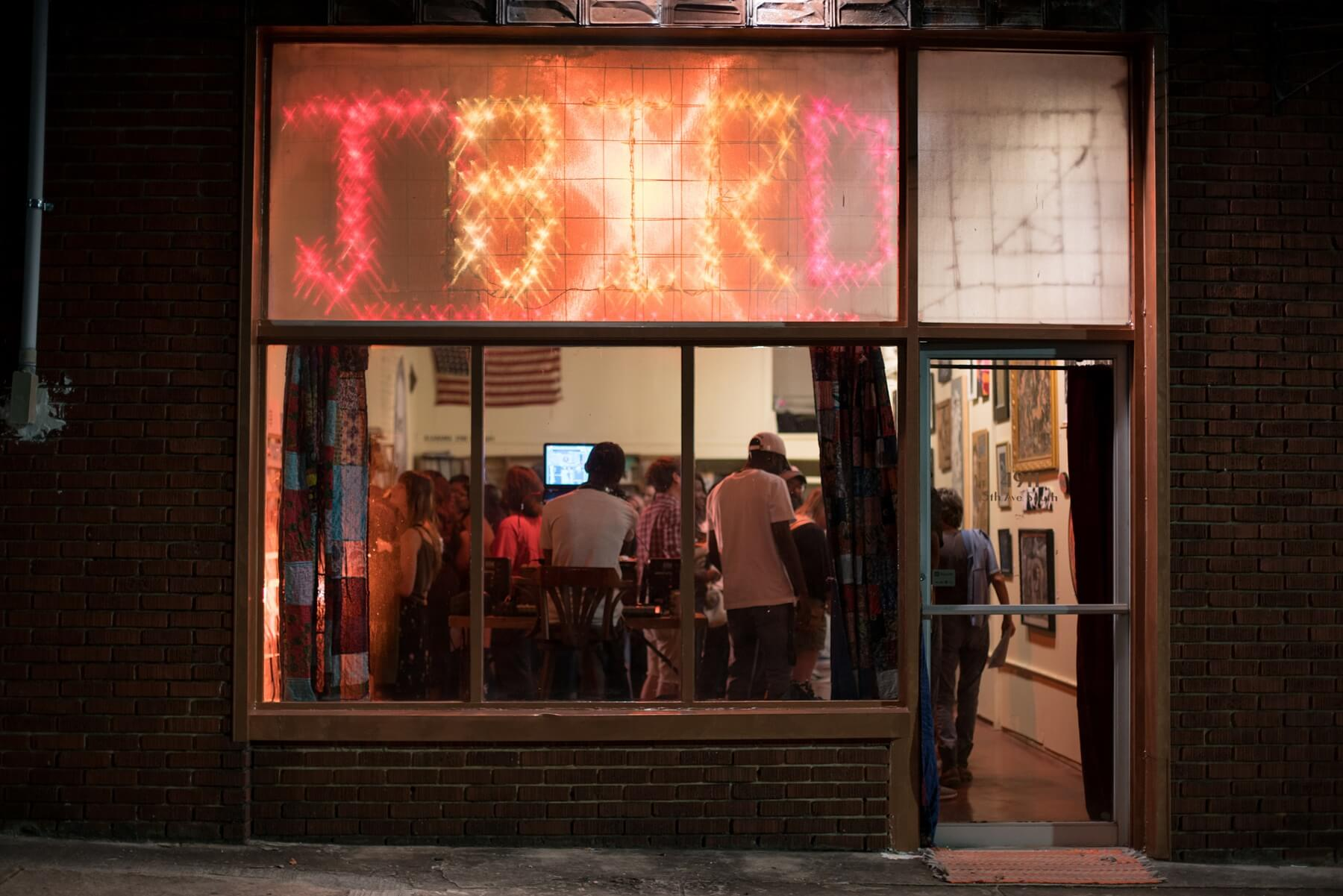 The Jaybird is a budding community arts and performance space on Fifth Avenue South in the Crestwood community. Founded in September 2017, the venue functions to champion the arts in Birmingham. Image: Glory McLaughlin