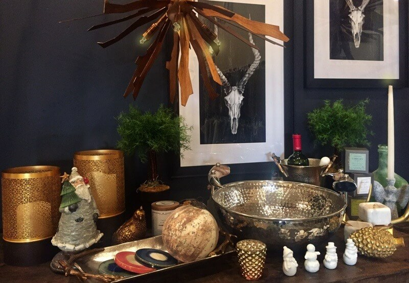 Metallic accents are a quick and easy way to add texture and interest in the way that they catch and reflect the light. This collection from Merridian shows the multiple ways that metallics can do this. Image: Merridian
