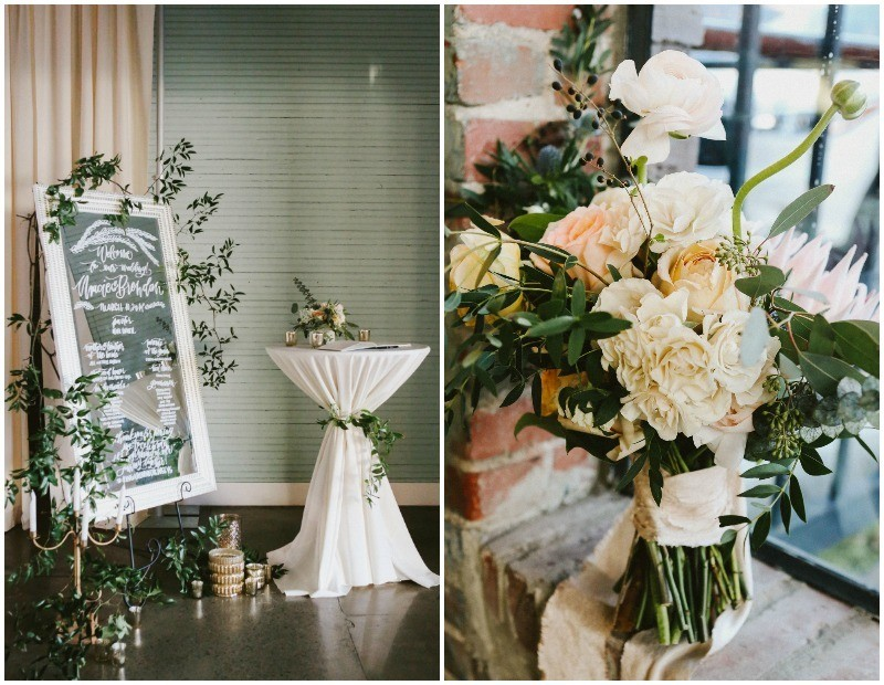 On Your Wedding Day By Unknown: Industrial Meets Ethereal In This Wedding At Haven