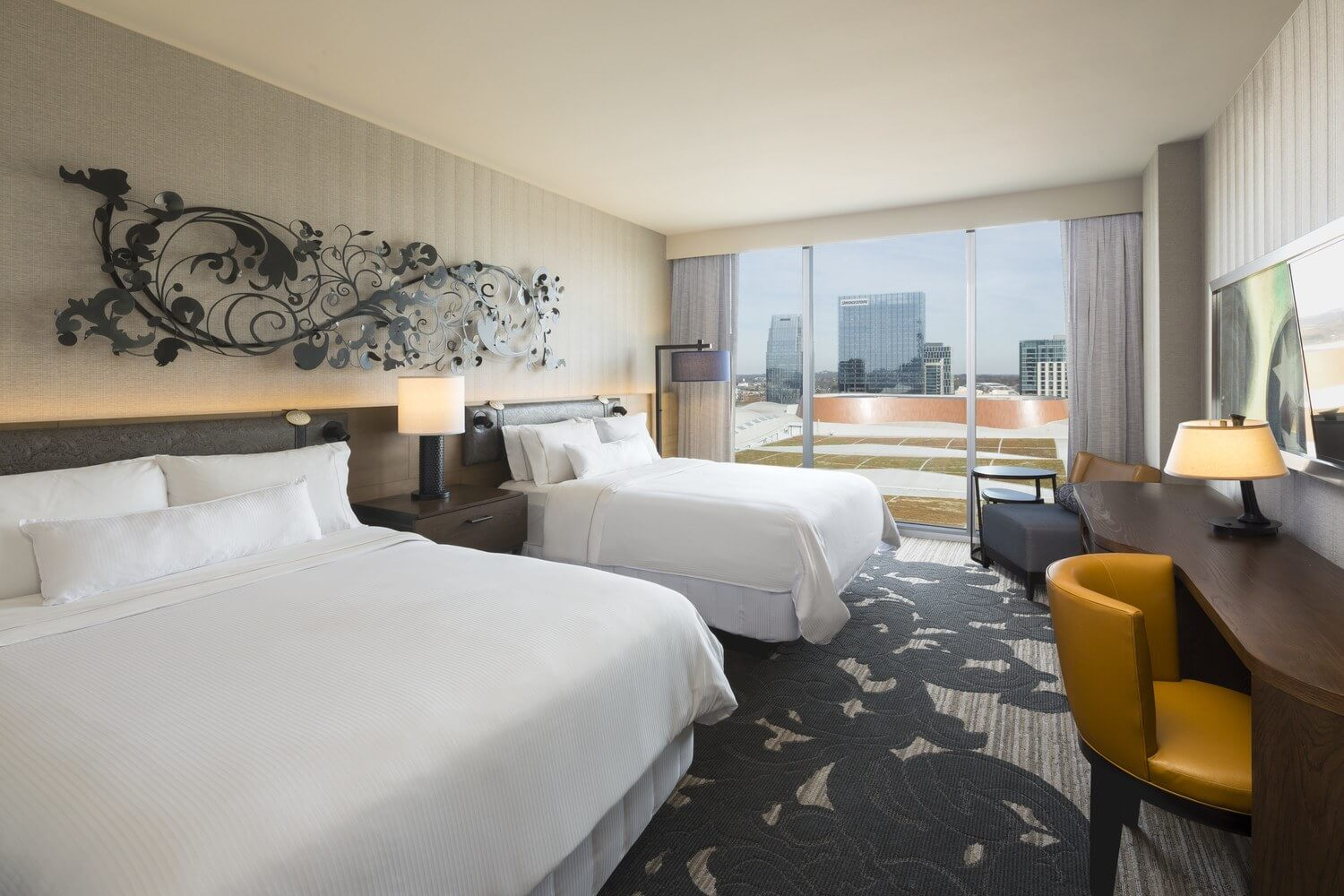 Encounter contemporary luxury and sophisticated elegance at The Westin Nashville.