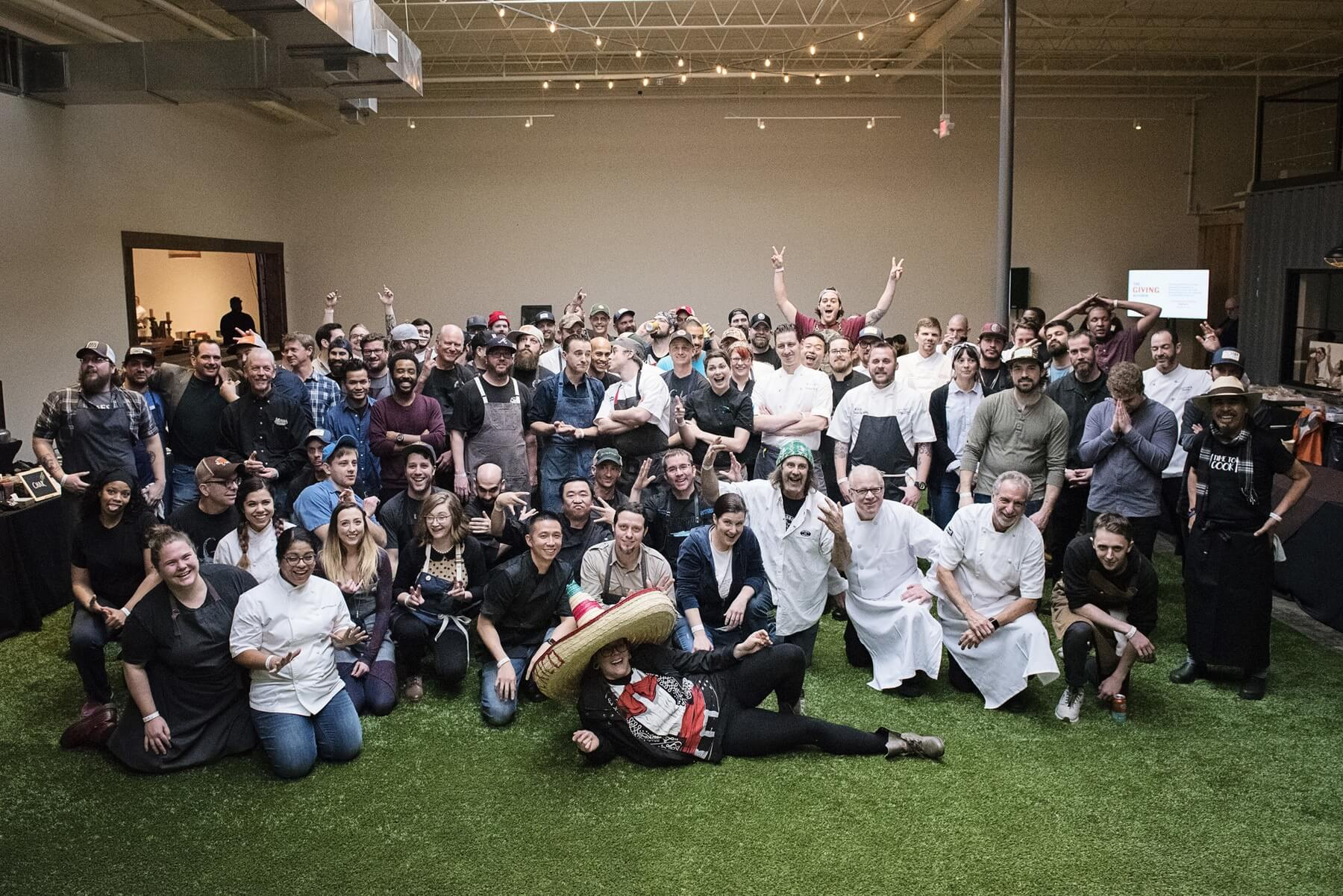 Chef participants in Team Hidi 6, which took place in January and raised nearly $720,000 | Image: The Giving Kitchen