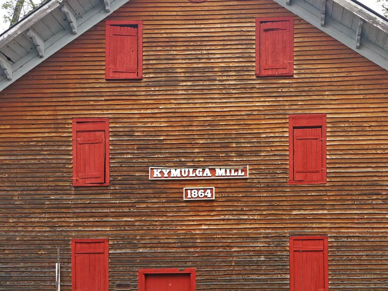 The Grist Mill is situated beside a charming little amphitheater, where bands play during the park's events such as the annual Kymulga Grits Festival in April.