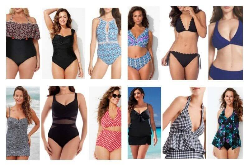 21f33b6ac6e2d Whether you're petite, plus-sized or somewhere in between, you're sure to  find a style you'll love on this list. Feel confident at the beach this  year with ...