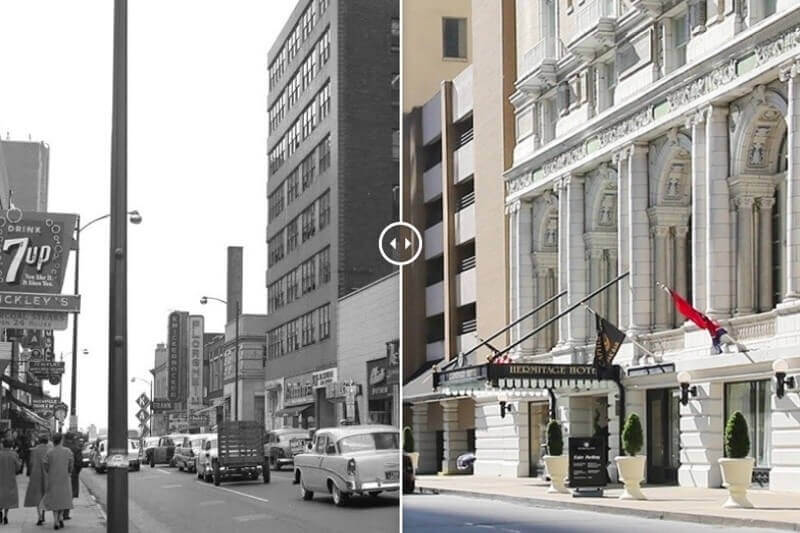 Then & Now: Scenes From a Barely Recognizable Nashville