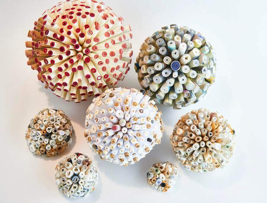"""Beaded Orbs"" by Mia Badham"