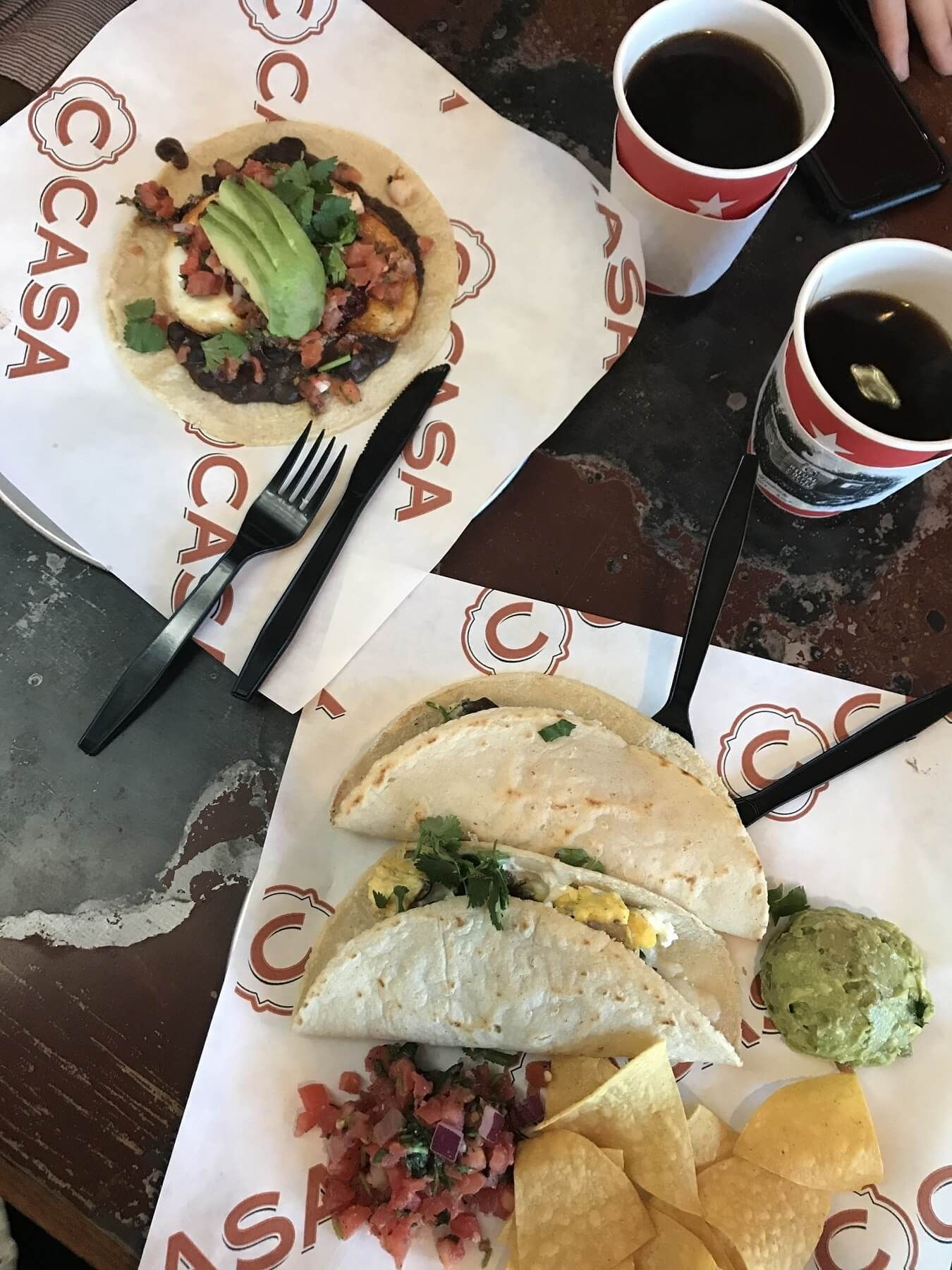 Any day that starts with breakfast tacos is guaranteed to be a success.