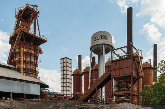 Sloss Furnaces defines Birmingham, making it the perfect place for a photo op.