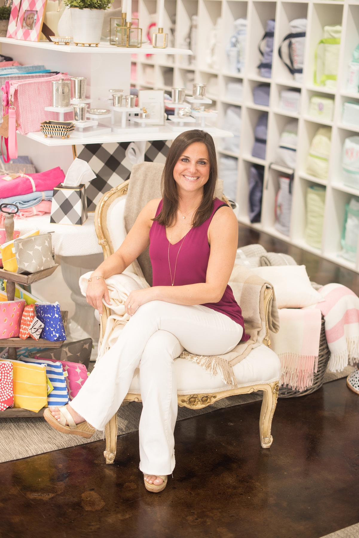 Betsy Bayer, Owner of B. Bayer & Co. Monogramming & Gifts