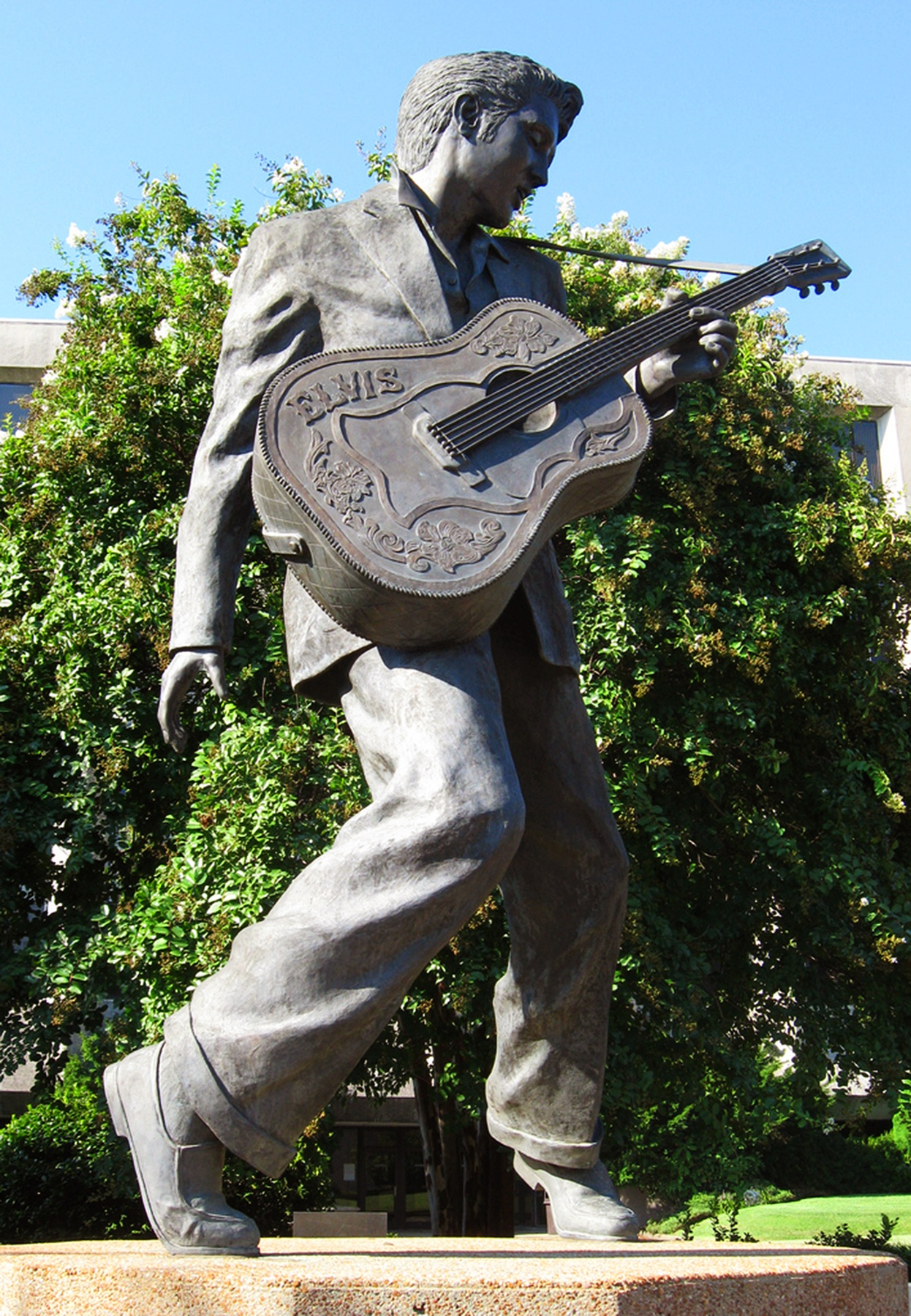 You can't miss this statue in the heart of Beale Street.