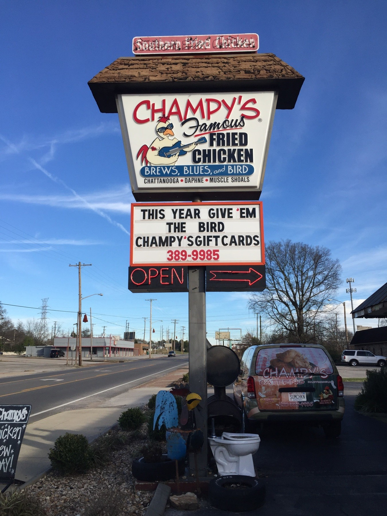 Champy's has delicious food and fantastic decor to check out. | Image: Ashley Haugen