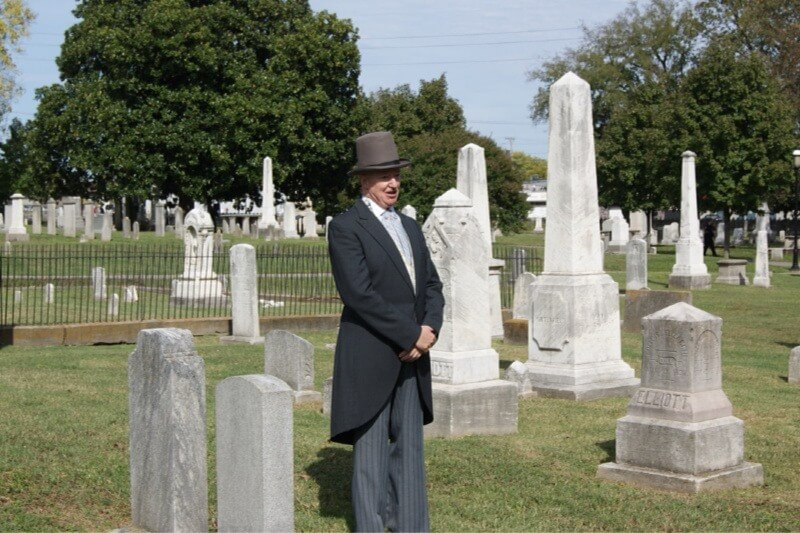 Oct 27: Annual Living History Tour
