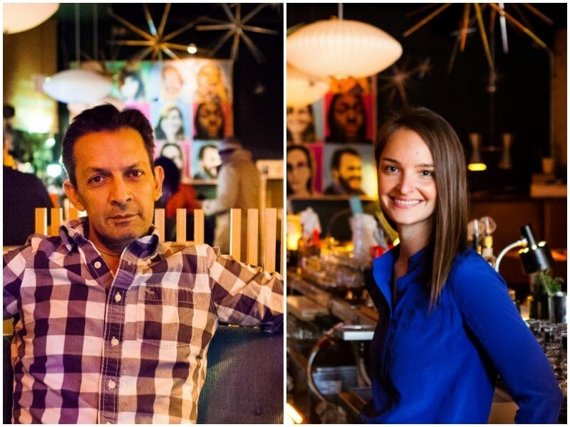 Feizal Valli & Rachael Roberts, Owners of 2018 James Beard nominated The Atomic Bar & Lounge | Images: Rachael Roberts
