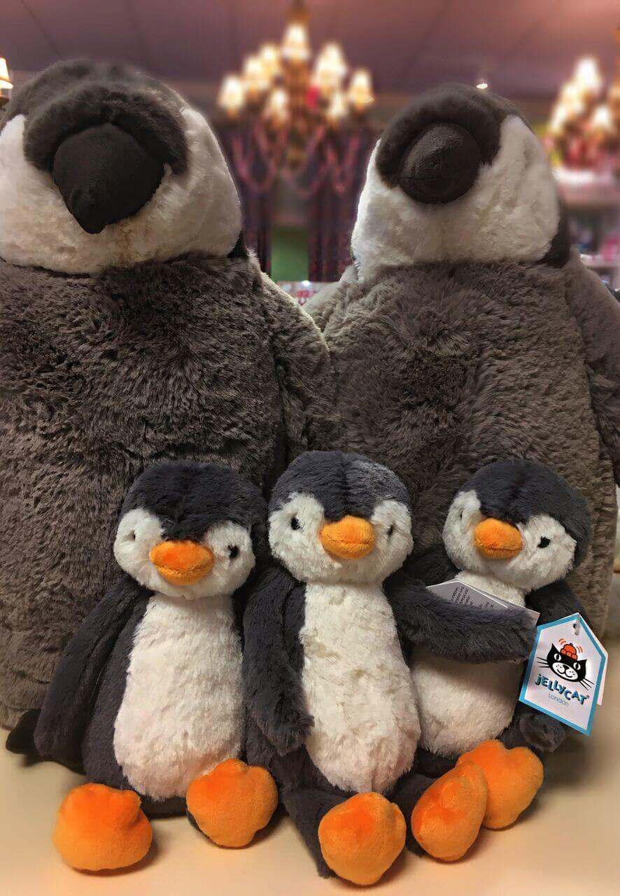 Snuggly stuffed animals will be sure to please the little ones in your life.