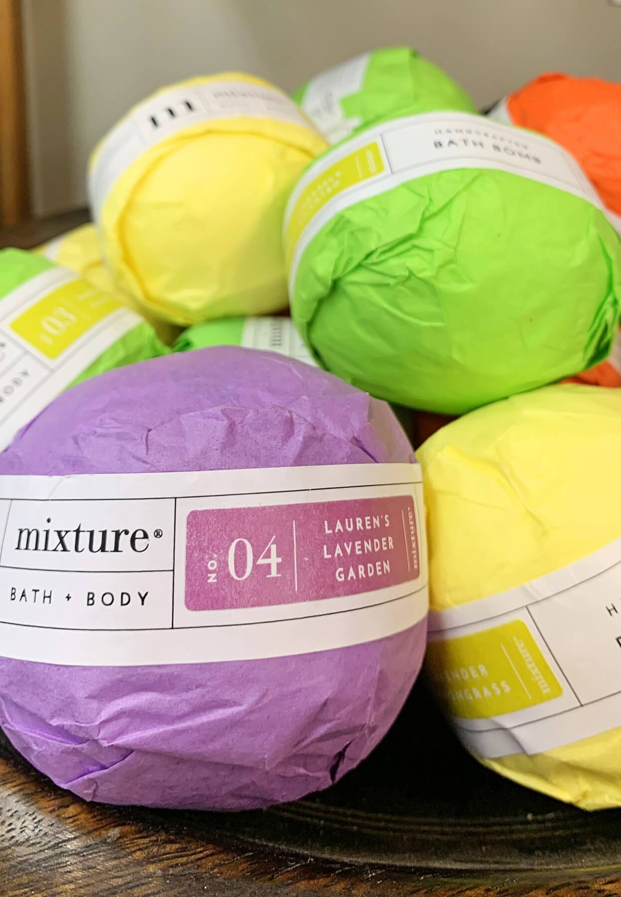 Bath bombs, $9, at Homewood Antiques- 50 gifts Under $50