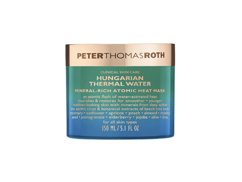 Peter Thomas Roth Hungarian Thermal Water Mineral-Rich Atomic Heat Mask, on sale for $29, usually $58.