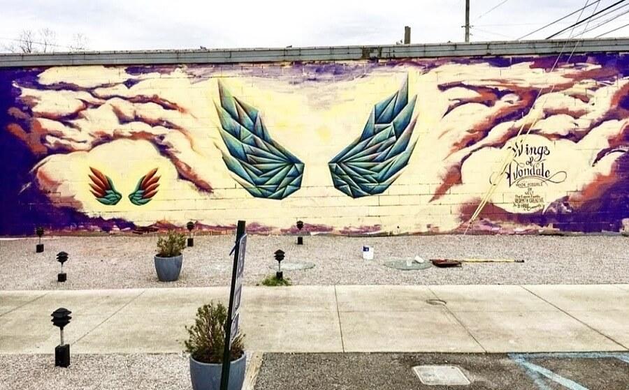 Birmingham Street Murals