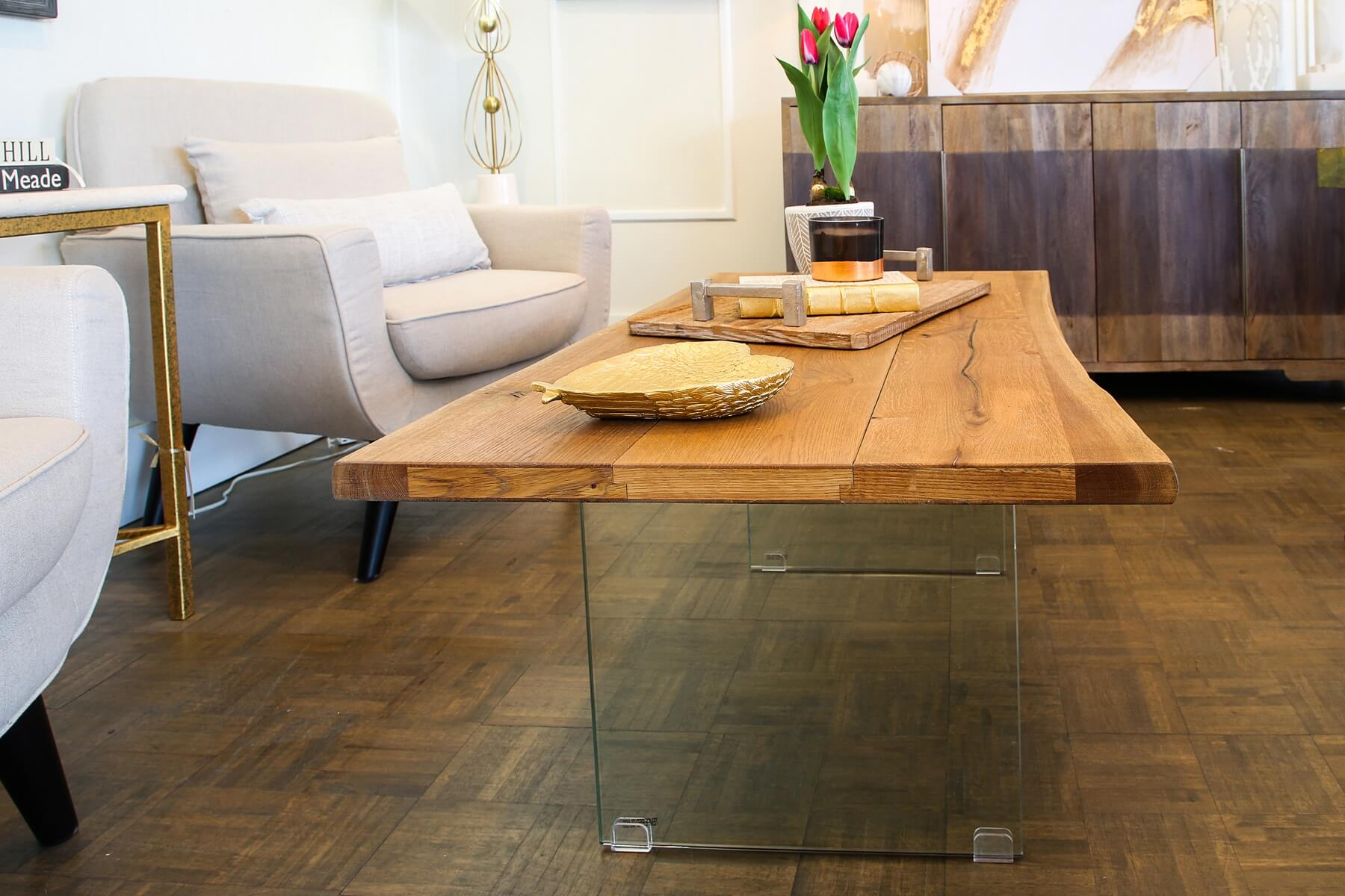 acrylic table — interior design trends