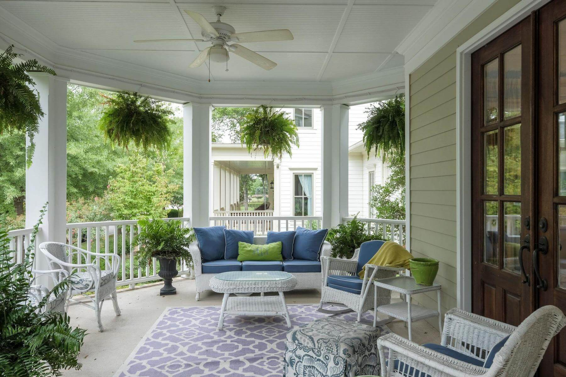 Westhaven front porch — Franklin Neighborhoods