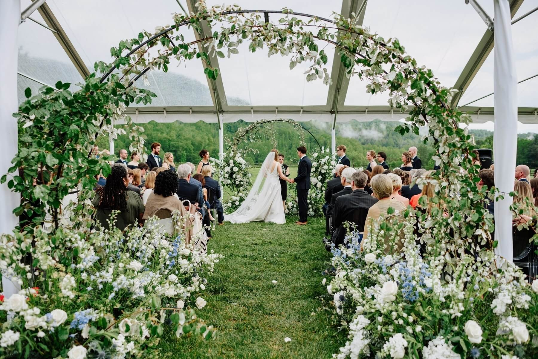asheville claxton farm wedding