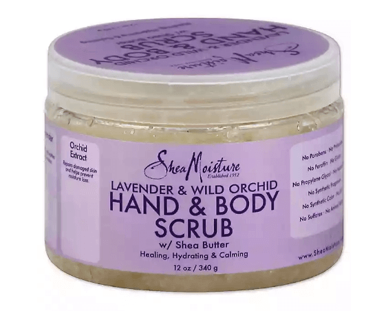 Shea butter hand and body scrub