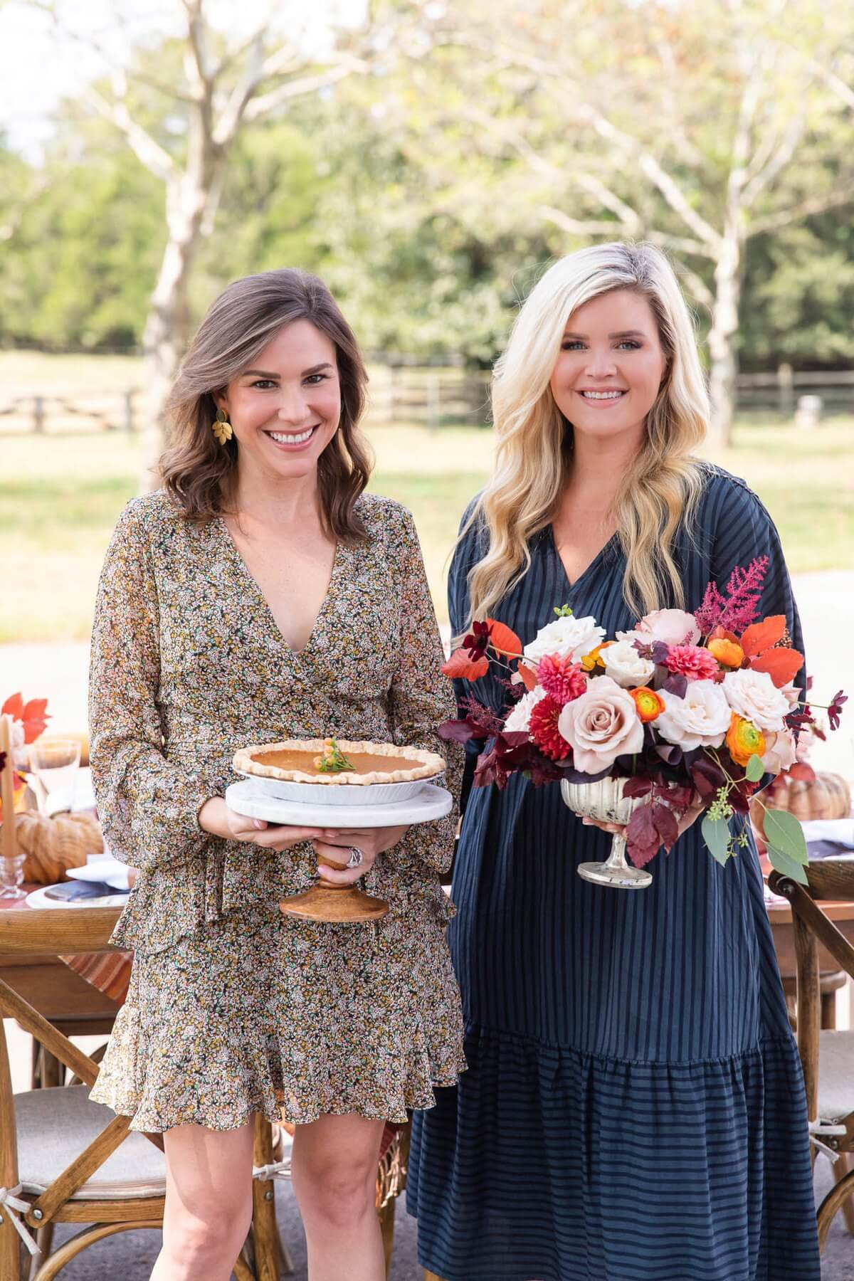 Fall tablescapes- Cristin Cooper and Mary Huddleston