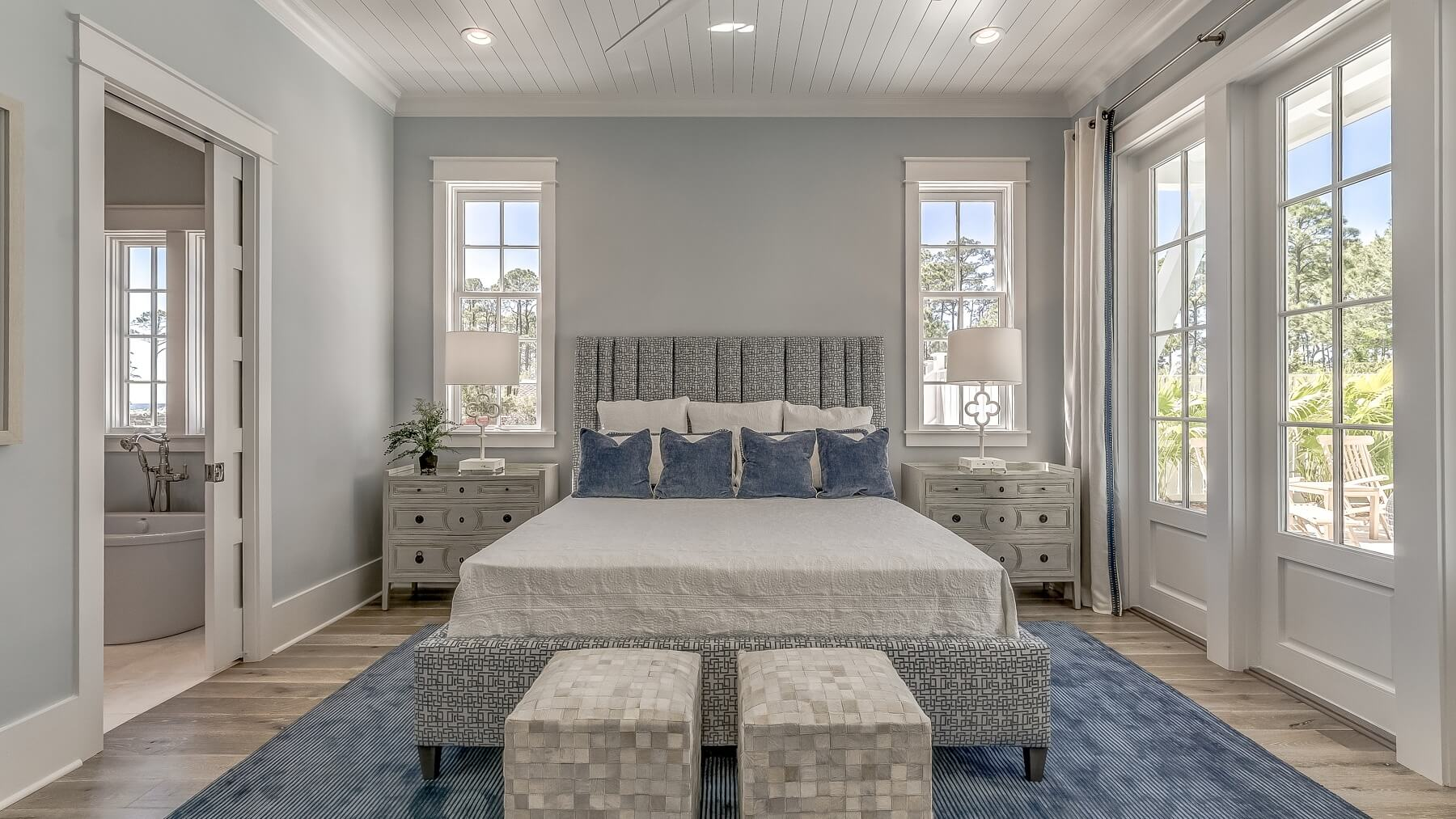 Master bedroom- 30A beach house