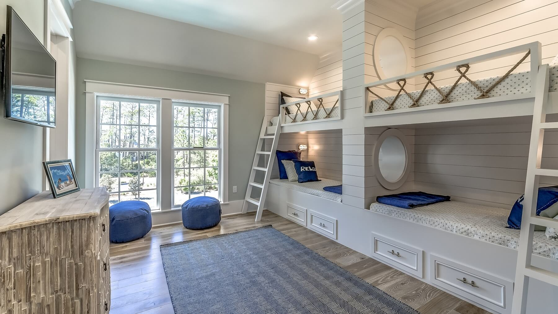 Bunk room- Hilary & Reverie- 30A beach house