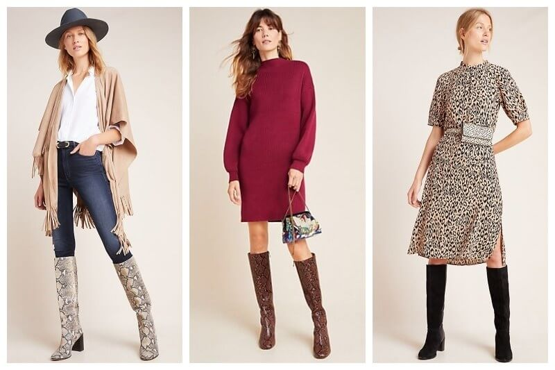 How to Style Tall Boots this Fall