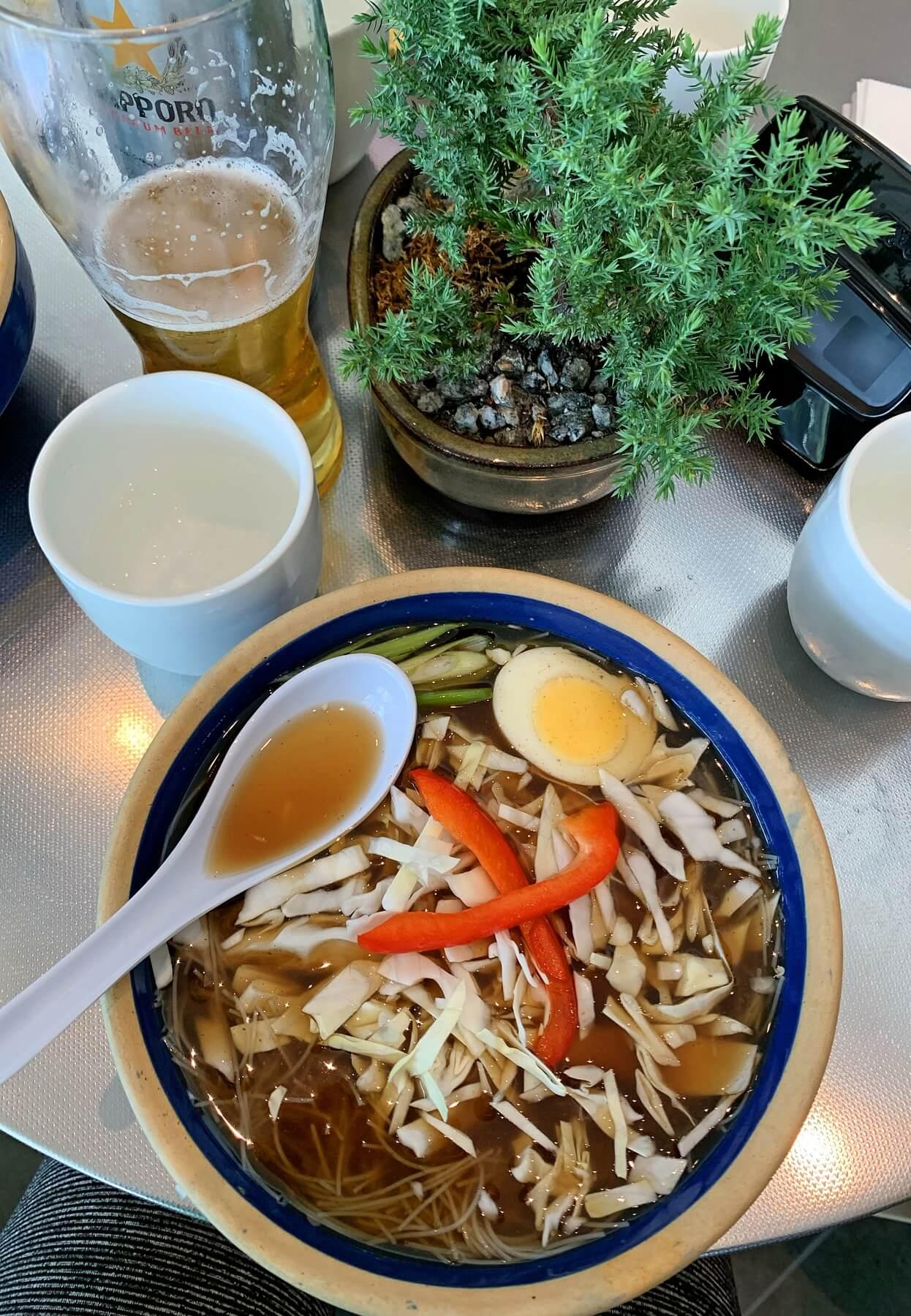Noodle Shop soup- Indianapolis