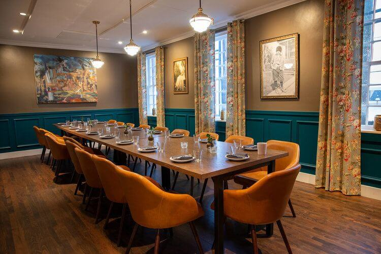 Private Dining Space at Hathorne
