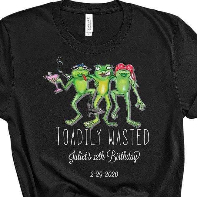 Personalized leap year t-shirt
