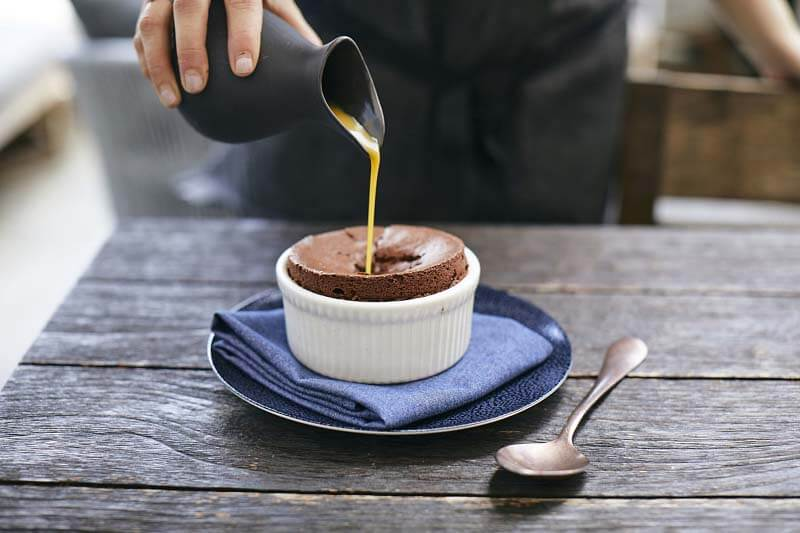 Chocolate Souffé from Henley