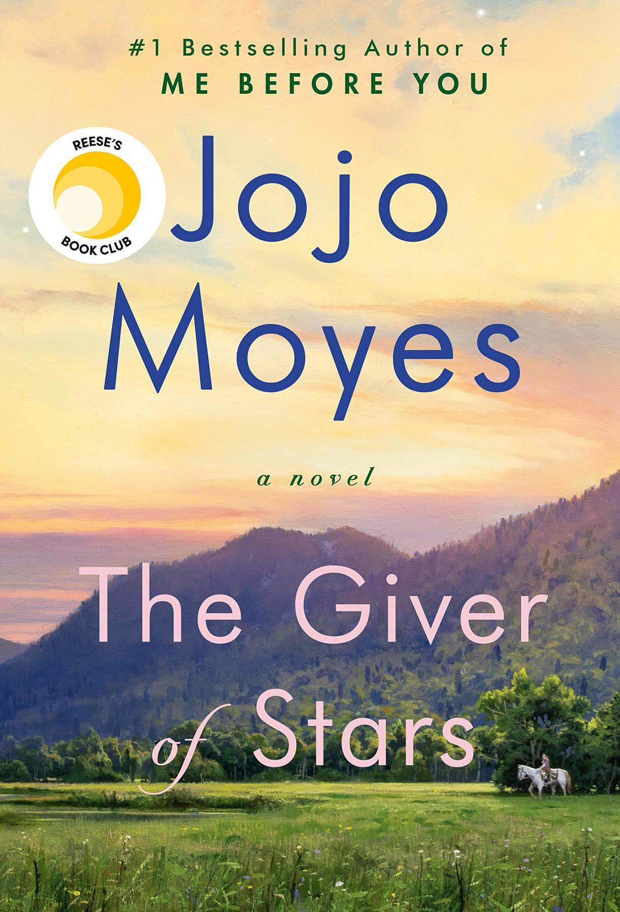 The Giver of Stars by Jojo Moyes, a spring read 2020
