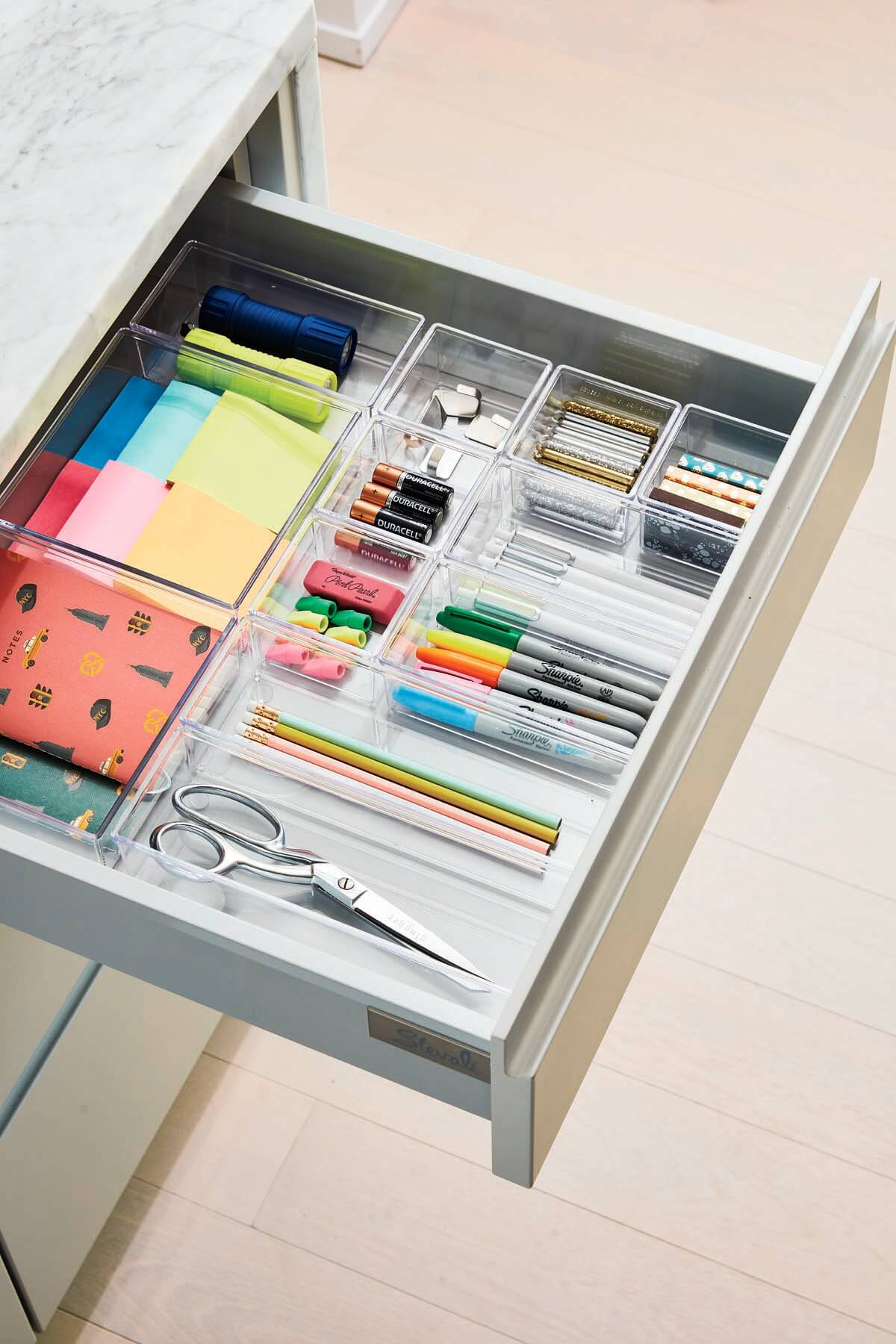 Kitchen junk drawer for spring cleaning tips