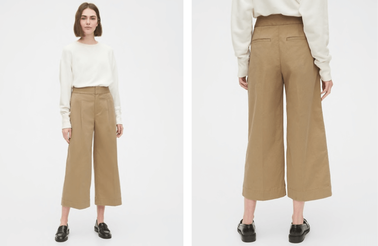 Wide Leg Pants at Gap