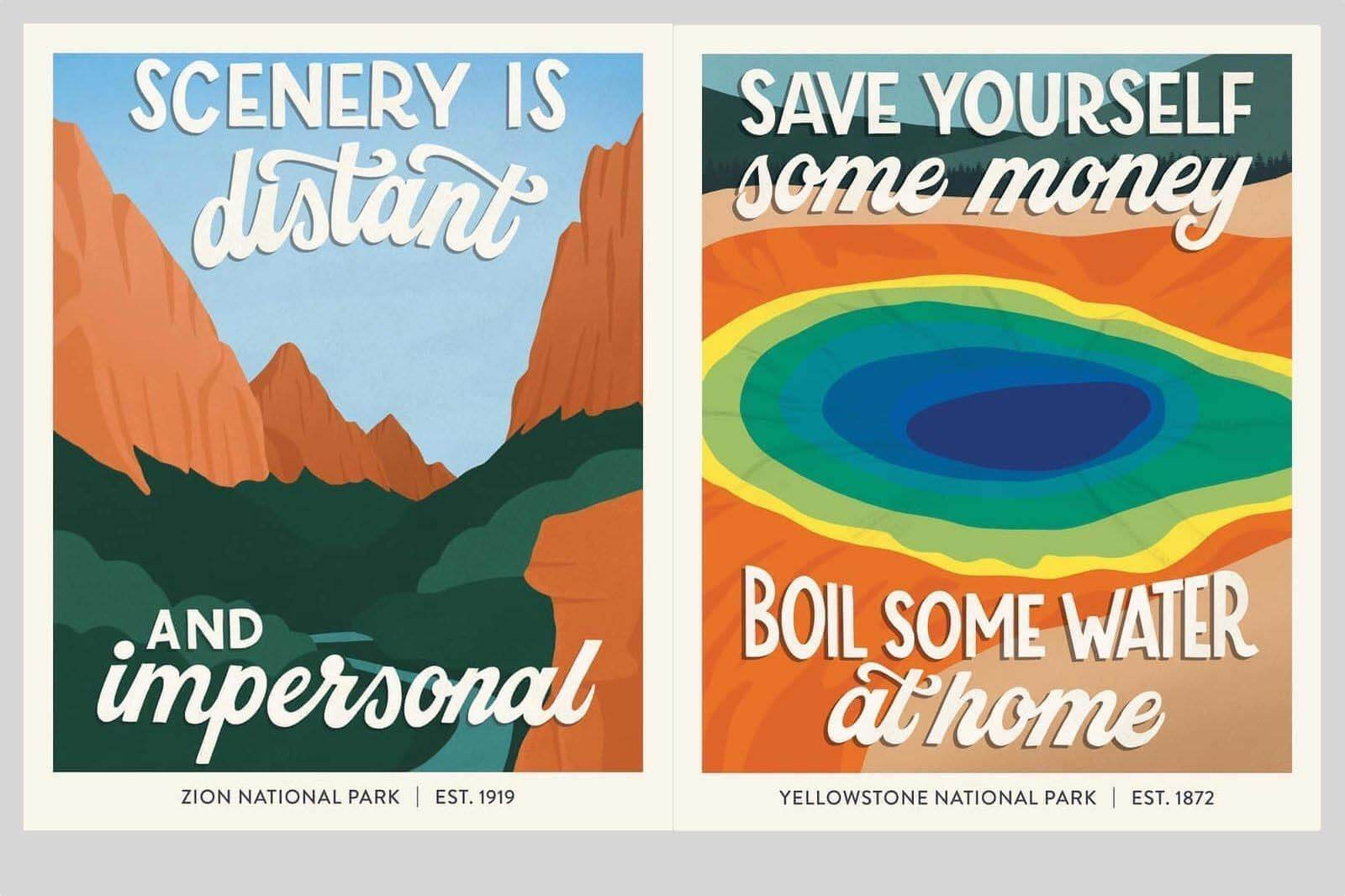 A Snarky Love Letter to the National Parks System