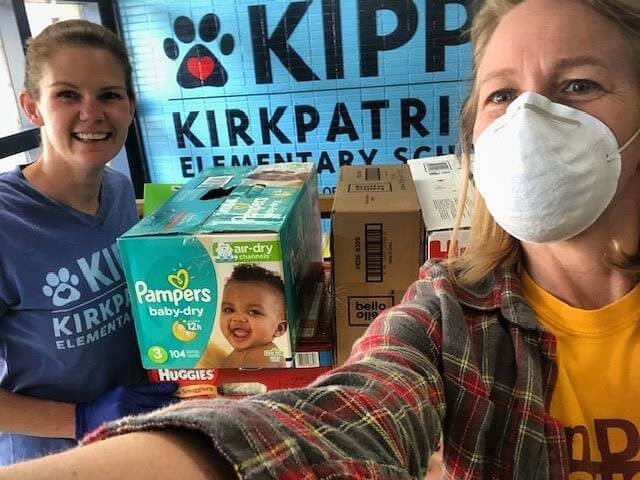 Brandi Jack, Nashville Diaper Connection volunteer