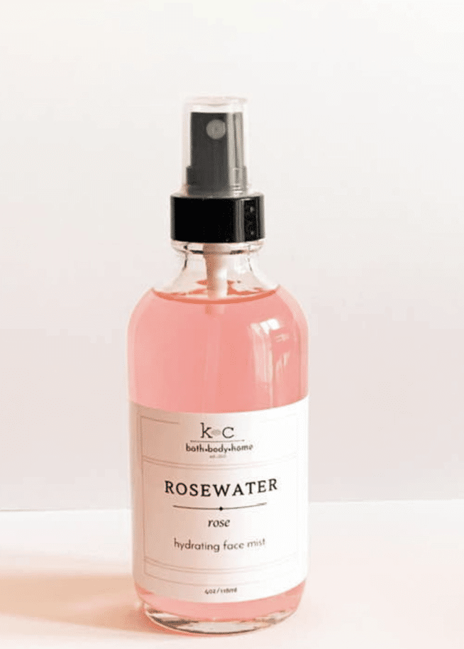 Rosewater Face Mist from k + c bath co.