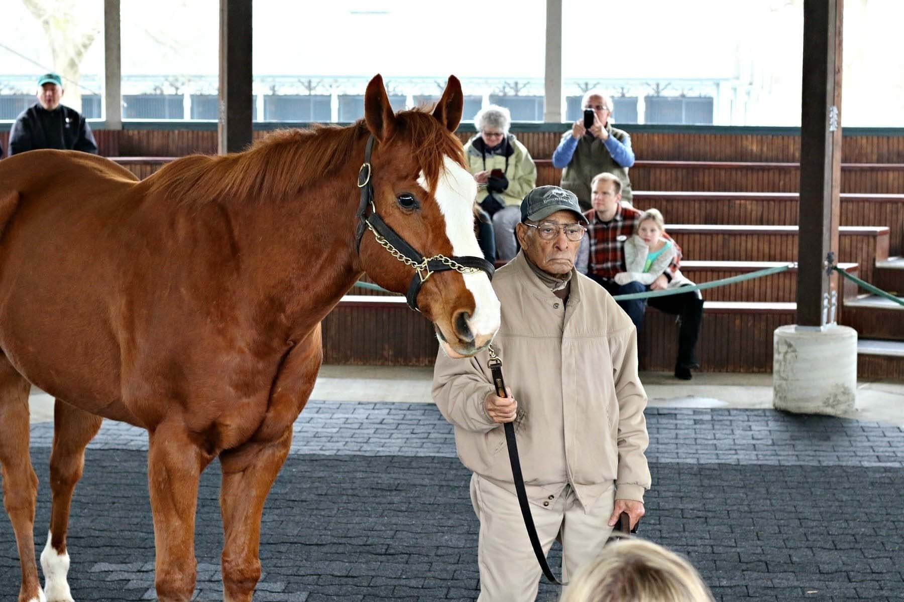 Kentucky Horse Park is located along a Kentucky scenic byway