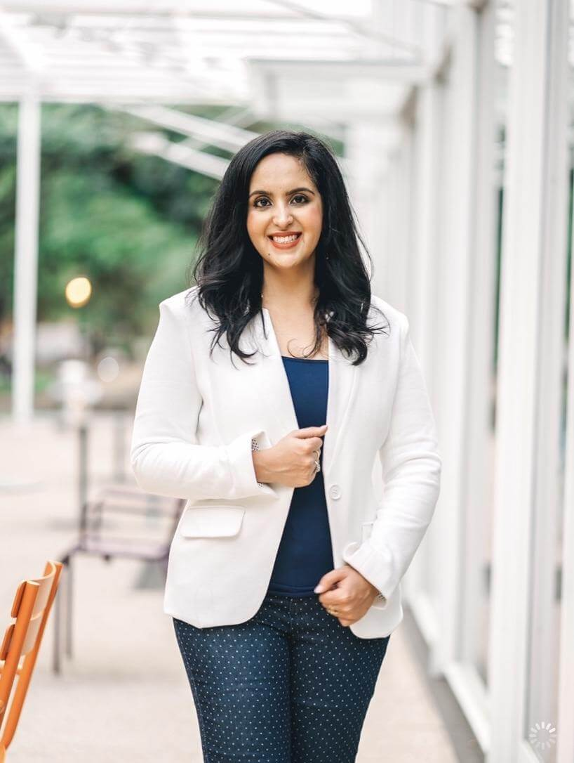 Aparna Shewakramani of Indian Matchmaking